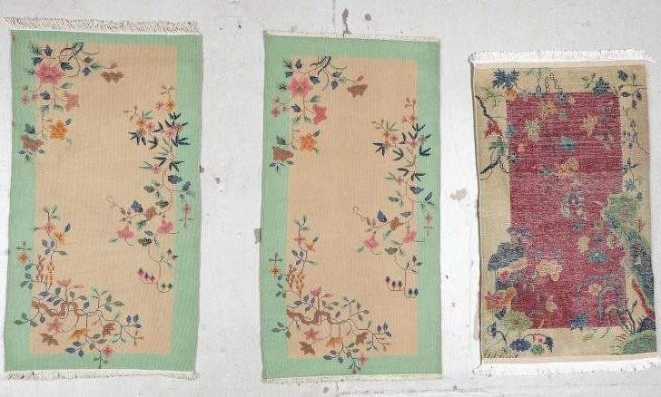 Small Art Deco Chinese Rugs