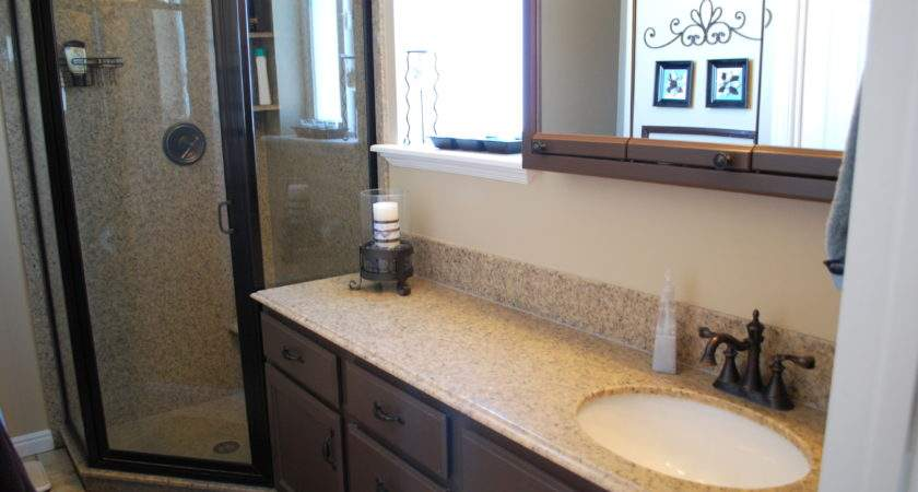 Small Bathroom Makeovers Large Beautiful