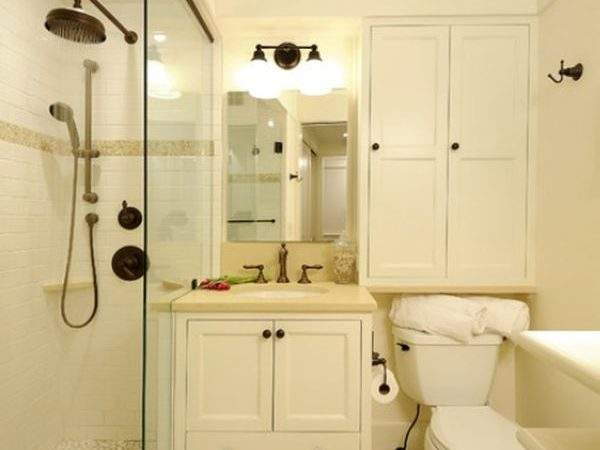 Small Bathrooms Clever Storage Spaces