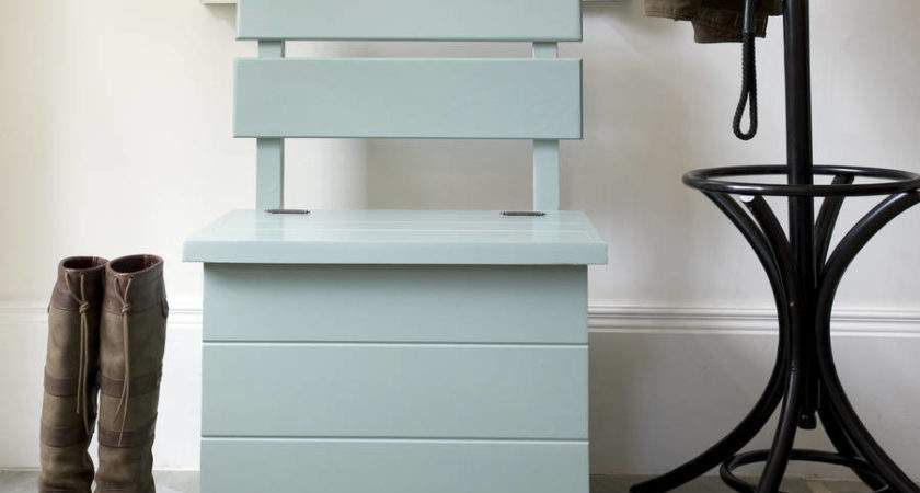 Small Bench Storage Entryway Stylish