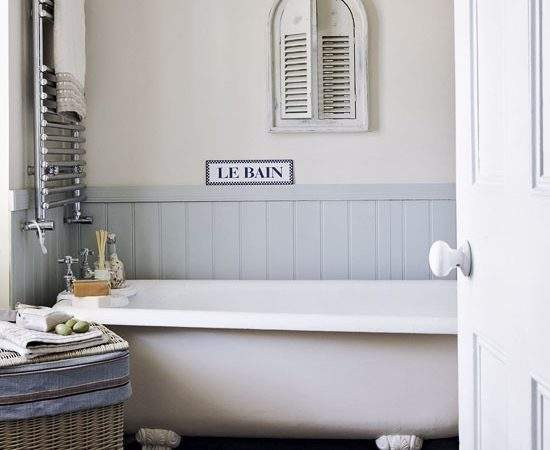 Small Country Style Bathroom Simple Designs