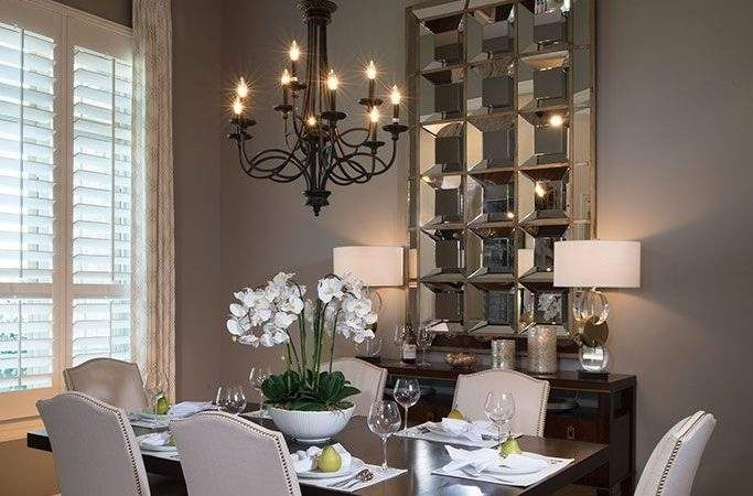 Small Dining Room Ideas Cool Grey Wall Color Using
