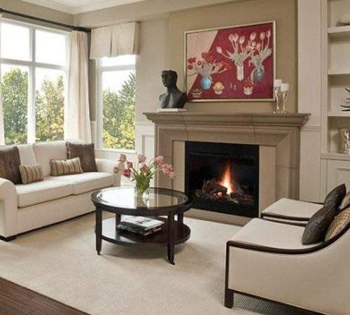 Small Living Room Decorating Ideas Fireplace