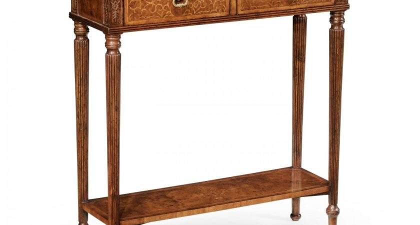Small Narrow Console Table Swanky Interiors