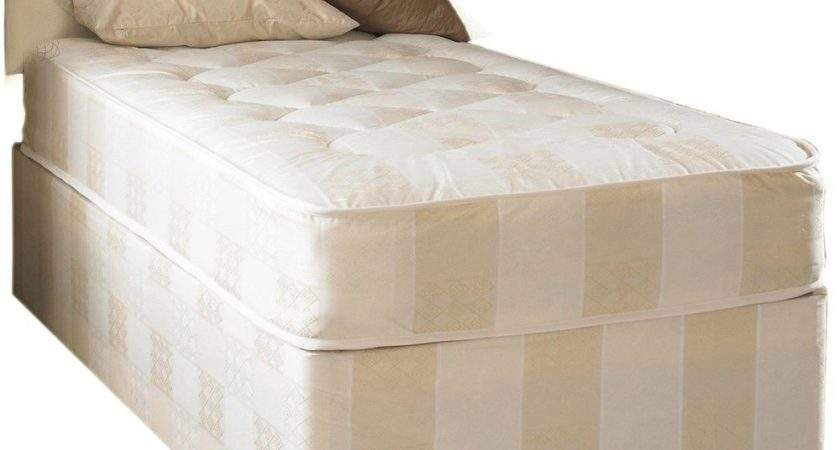 Small Single Bed Mattress Divan Deep Quilt