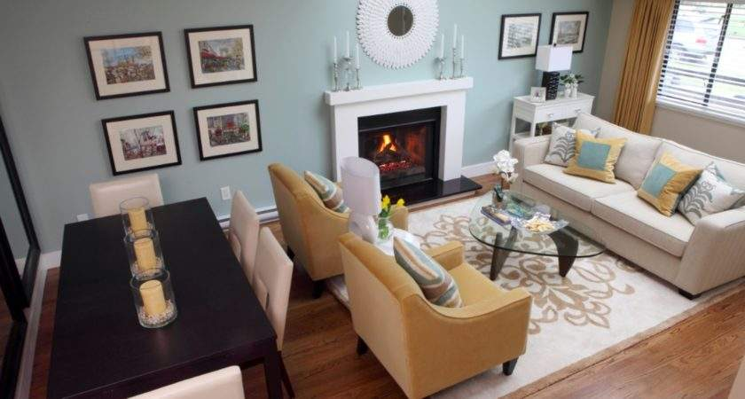 Small Space Living Room Dining Combo Ideas