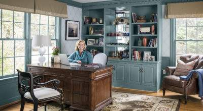 Smartened Home Office Redo Old House