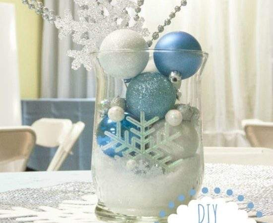 Snowflake Decorations All Glitters