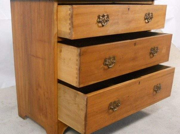 Sold Edwardian Ash Chest Drawers