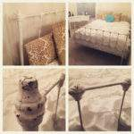 Sold Shabby Chic White Iron Bed Graciemaidesigns Etsy