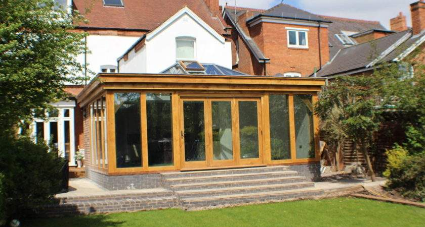Solid Oak Conservatory Orangery Garden Room Extra