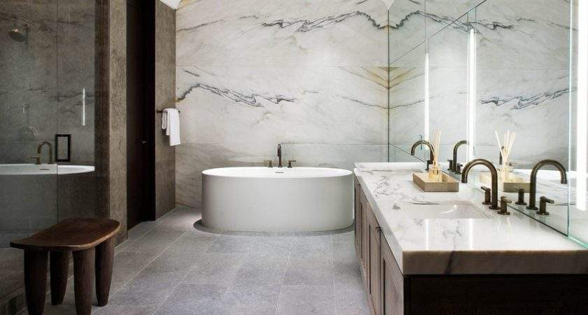 Sophisticated Bathroom Designs Marble Stay Trendy