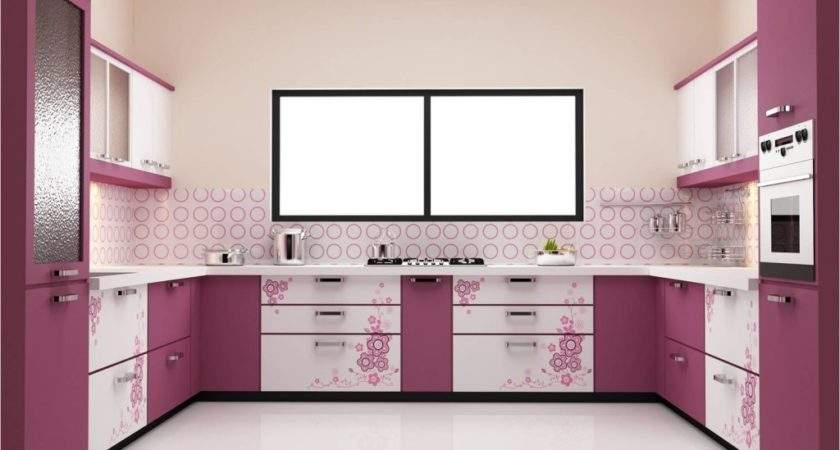 Sophisticated Modern Purple Kitchen Decorating Ideas