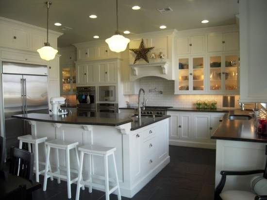 Source Hgtv Floor Ceiling White Shaker Kitchen