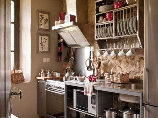 Space Saving Design Ideas Small Kitchens