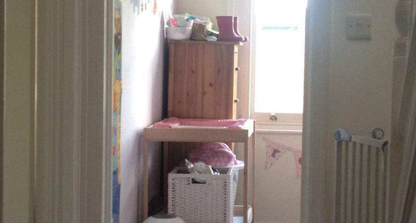 Space Saving Ideas Box Room Nursery New Mumblings