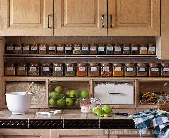 Spice Storage Ideas Solutions Small Kitchens