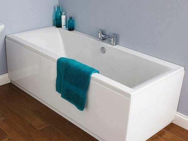 Square Double Ended Bath Panel Options