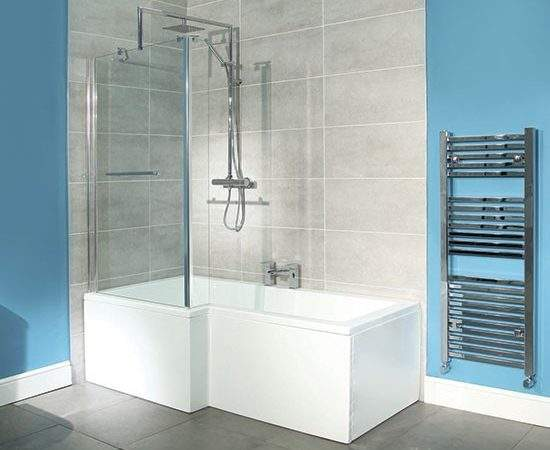 Square Shower Bath Better Bathrooms Baths