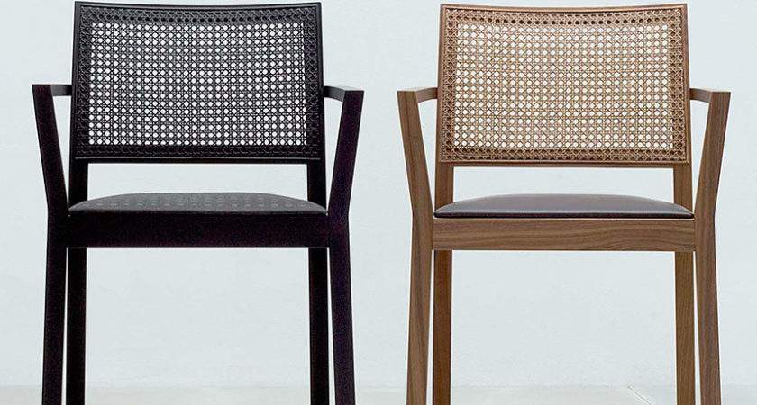 Stackable Woven Back Dining Chairs Wharfside Made