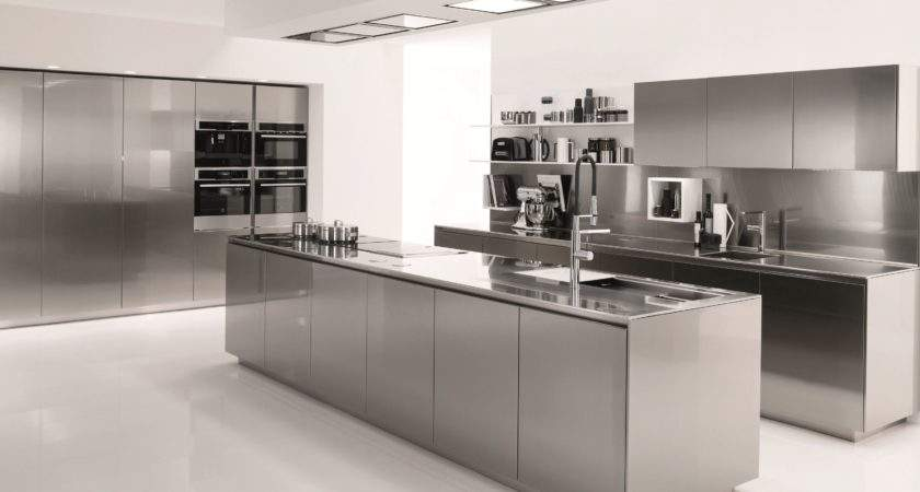 Stainless Steel Kitchen Cabinets Ikea Built Dining