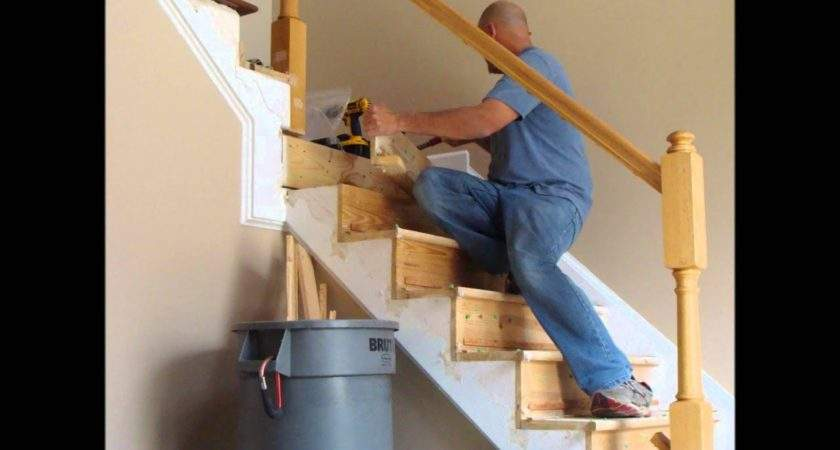 Stair Rail Renovation Spring Youtube