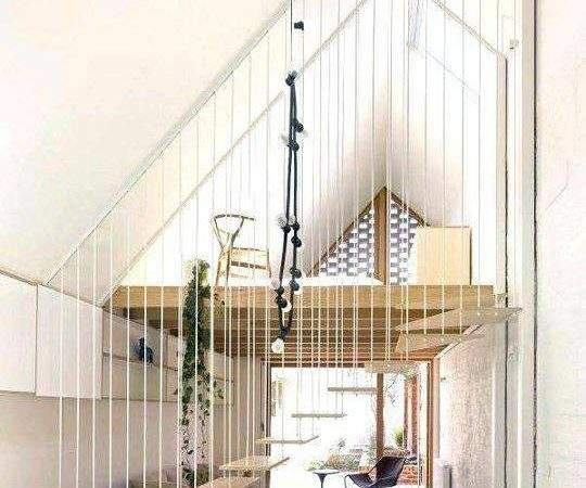 Staircase Designs Small Spaces Living Room