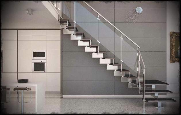 Staircases Designs Railing Side Mount Stainless Steel
