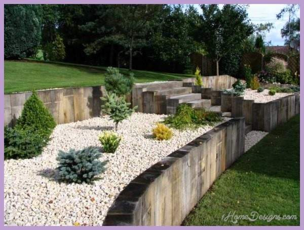 Stepped Garden Design Ideas Homedesigns