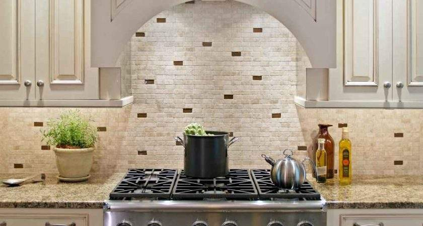 Stone Backsplash Design Feel Home