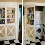 Storage Ideas Small Laundry Room Unique