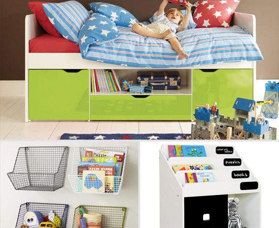 Storage Solutions Small Kids Rooms Popsugar Moms
