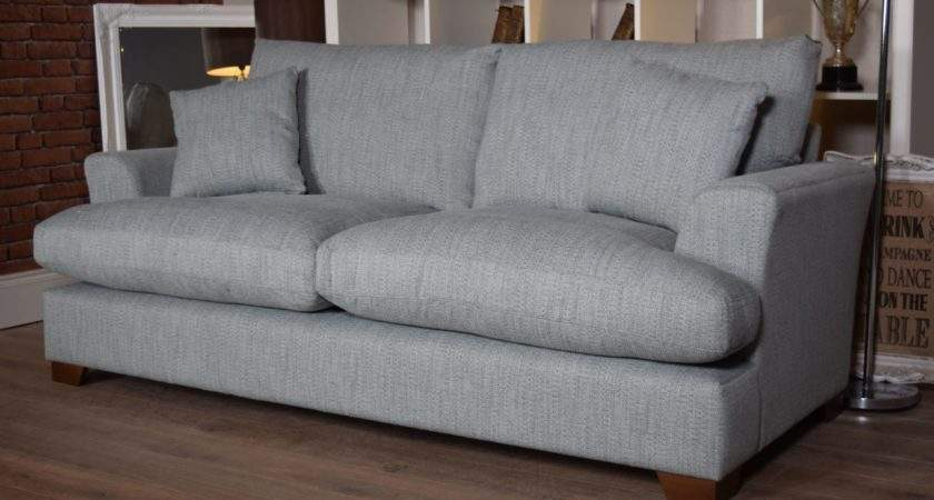 Stratus Seater Sofa Duck Egg Blue Out