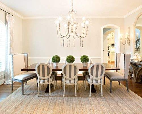 Striped Dining Chair Home Design Ideas Remodel