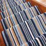 Striped Long Cut Measure Any Length Stair Carpet Runner