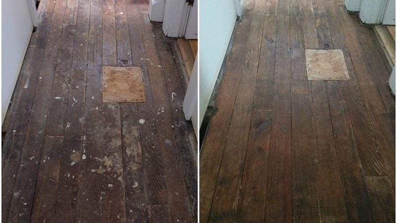Stripping Hardwood Floors Without Sanding