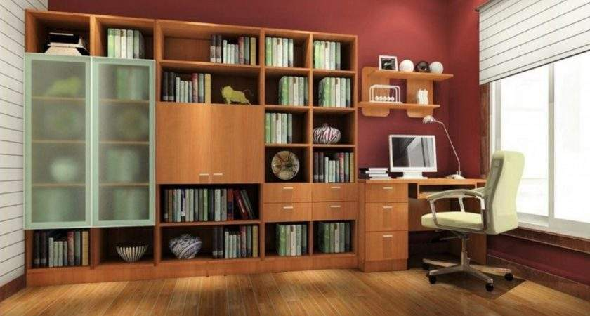 Study Design Ideas Red Wall House