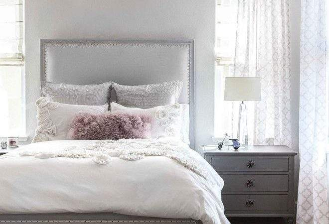 Stunning Gray White Pink Color Palette Home Over