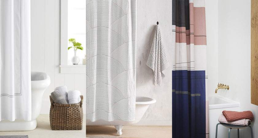 Stylish Shower Curtains Modern Bathroom
