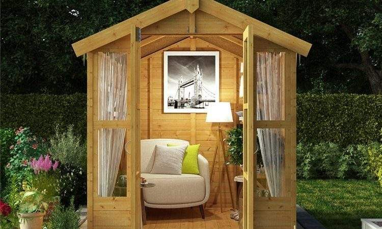 Stylish Sturdy Traditional Summer House Patio Outdoor