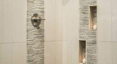 Stylish Vertical Tile Shower Design Ideas