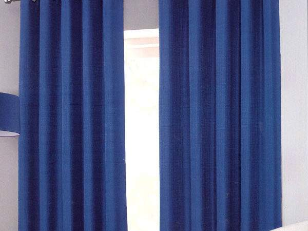 Sumatra Blue Black Out Eyelet Curtains Harry Corry Limited