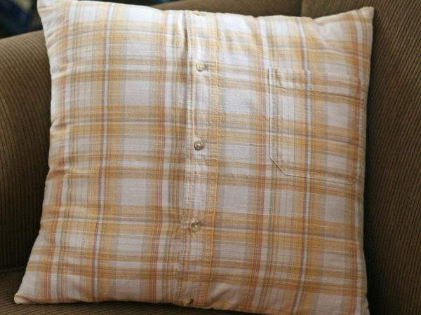 Super Easy Button Front Shirt Pillow Covers Very
