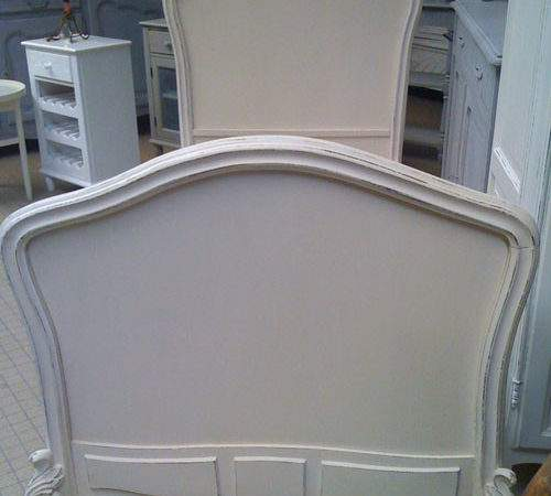 Superb Rococo Style Bed