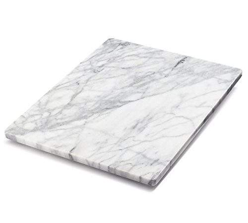 Sur Table White Marble Pastry Board