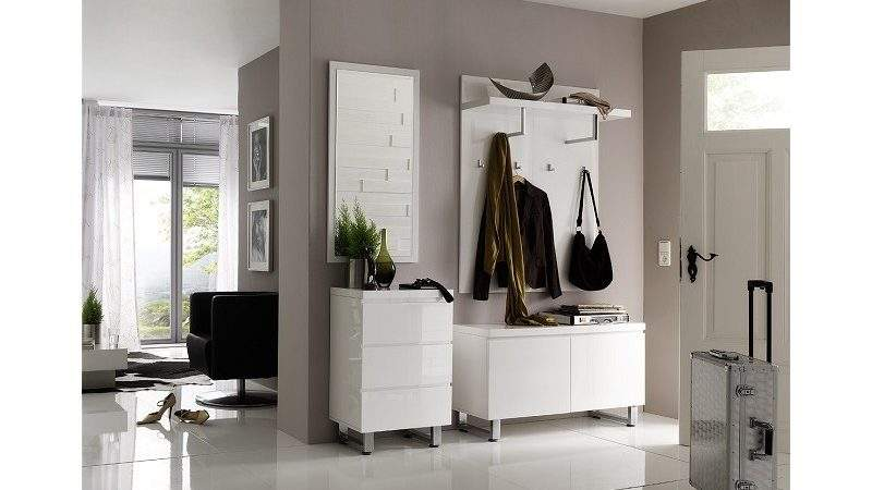 Sydney High Gloss Hallway Furniture Shoe Storage