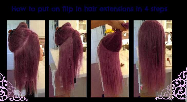 Synthetic Flip Hair Extensions They Worth