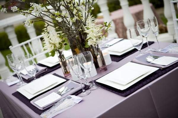 Table Setting Ideas Modern Holiday