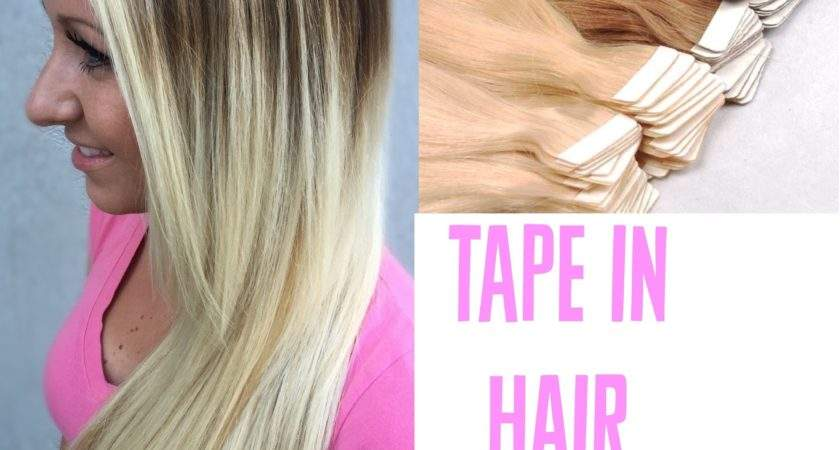 Tape Extensions Apply Tutorial Youtube
