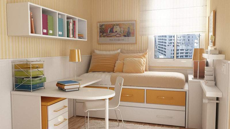 Teen Bedroom Decorating Photos Photograph Very Small